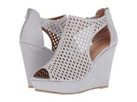 Chinese Laundry Indie Grey Blue Women's Wedge Shoes Gray