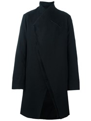 Lost And Found Ria Dunn Single Breasted Coat Black
