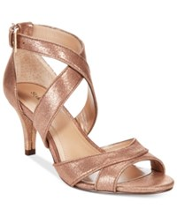 Styleandco. Style And Co. Pravati Evening Sandals Only At Macy's Women's Shoes Copper