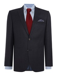 Chester Barrie Prince Of Wales 2 Pc Piccadilly Suit Blue
