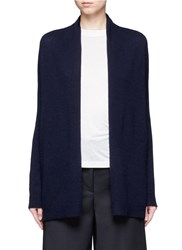 Theory 'Ashtry J' Open Front Cashmere Cardigan Blue