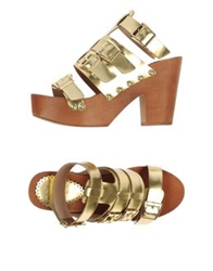 Colors Of California Sandals Gold