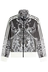 Adidas Originals Printed Zipped Jacket Multicolor