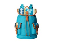 Pendleton Canvas Rucksack Sunset Pass Turquoise Backpack Bags Blue