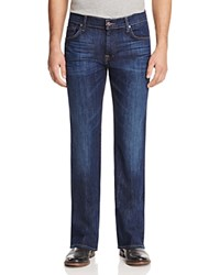 7 For All Mankind Bootcut Jeans In Dark Wash Denim Compare At 215