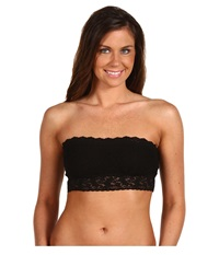Hanky Panky Signature Lace Lined Bandeau 487102 Black Women's Bra