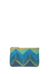 Missoni Small Wool Pochette Blue