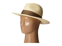 Hat Attack Panama Continental Natural Mocha Traditional Hats Neutral