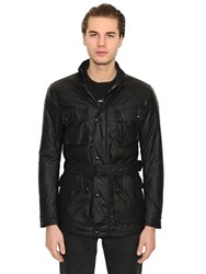 Belstaff Speedmaster Insulated Waxed Field Jacket