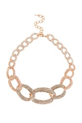 Coast Nikita Chain Link Necklace Rose Gold