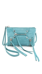 Botkier Logan Wristlet Powder Blue