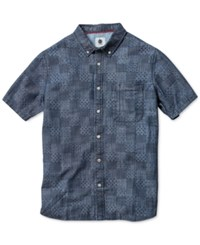 Element Harris Short Sleeve Shirt Indigo