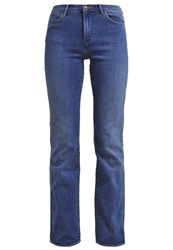 Wrangler Tina Bootcut Jeans Blue Horizon Blue Denim