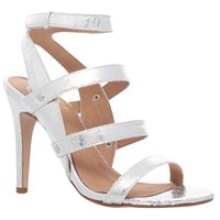 Kg By Kurt Geiger July Occasion High Heel Sandals Silver