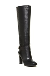Enzo Angiolini Sumilow Tall Boot Extended Calf Black