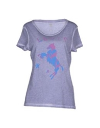 Levi's Red Tab T Shirts Lilac