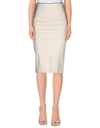 .. Merci Skirts Knee Length Skirts Women Beige