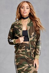 Forever 21 Camo Print Track Jacket