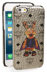Mcm 'Rabbit' Iphone 6 And 6S Case Metallic Silver