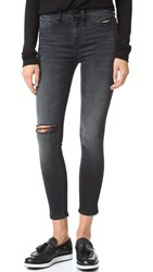 Rag And Bone Skinny Capri Jeans Steele