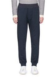 Acne Studios Rib Cuff Sweatpants Blue