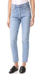 Agolde Jamie High Rise Classic Jeans Brooklyn