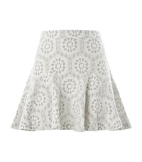 Juicy Couture Bonded Lace Skirt Female
