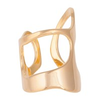 Shahla Karimi Paris Lake Ring No.3 18K Gold Vermeil