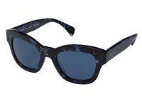 Paul Smith Dennett Confetti Blue Blue Fashion Sunglasses Black