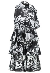 Maxandco. Portici Cocktail Dress Party Dress Black White