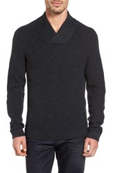 Rodd And Gunn Men's Charlesworth Suede Patch Merino Wool Sweater