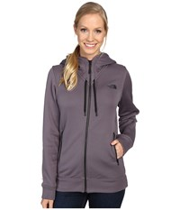 The North Face Wyntur Hoodie Rabbit Grey Women's Coat Gray