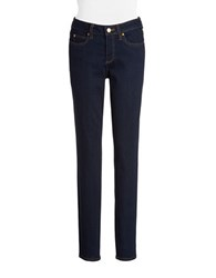 Vince Camuto Five Pocket Skinny Jeans Midnight Denim