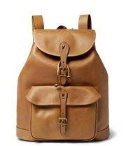Polo Ralph Lauren Leather Backpack Tan