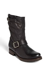 Women's Frye 'Veronica Shortie' Slouchy Boot Black Leather