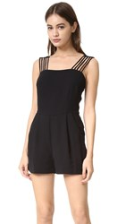 Bb Dakota Melody Strappy Romper Black