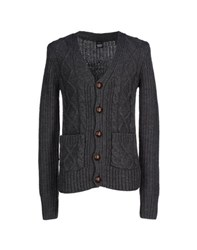 Dr. Denim Jeansmakers Knitwear Cardigans Men Steel Grey