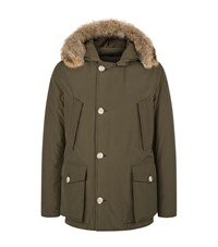 Woolrich Arctic Down Anorak Male Olive