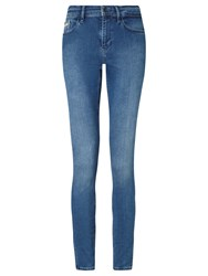 Calvin Klein High Rise Skinny Jeans Mid Eighties Blue Stretch