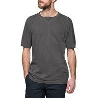 Mhi Maharishi Black Raw Cross T Shirt