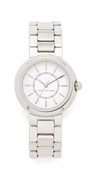 Marc Jacobs Courtney Watch Silver White