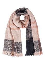 Ichi Talise Scarf Rose Smoke