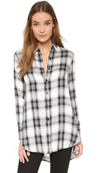 Bb Dakota Deacon Plaid Shirt Blue Multi