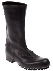 Premiata Round Toe Boot Black