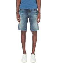 Diesel Waykee Denim Loose Fit Shorts