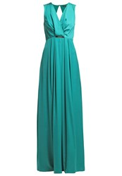 Patrizia Pepe Maxi Dress Deep Green Water
