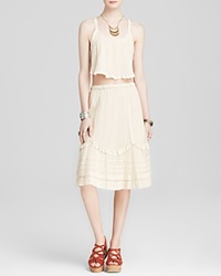 Free People Top And Skirt Set Calida Tea Combo