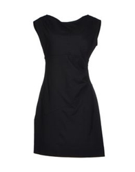 Scooterplus Short Dresses Black
