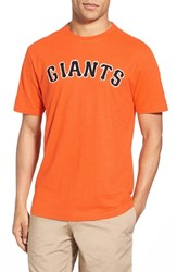 Men's Red Jacket 'San Francisco Giants Twofold' Crewneck T Shirt