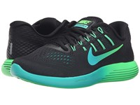 Nike Lunarglide 8 Black Multicolor Real Teal Clear Jade Women's Running Shoes